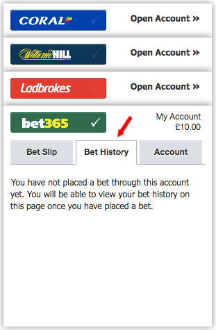 Checking your bet365 betting history – Racing Post